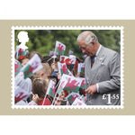HRH The Prince of Wales 70th Birthday Pack of 7 Postcards
