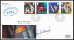 GB 1991 Sport Royal Mail First Day Cover signed by Rory Underwood