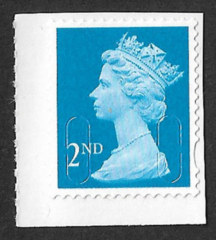 2nd class u/m mnh bright blue machin stamp MTIL SG U2981