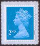 2nd class u/m bright blue M16L machin stamp SG U2995