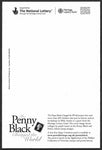 GB 2006 National Postal Museum and Archive Penny Black postcard