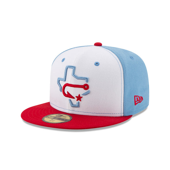 Corpus Christi Hooks New Era 59Fifty Fitted - Authentic Fauxback Cap