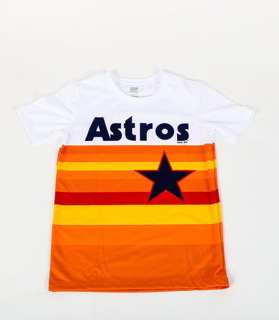 Houston Astros Toddler Outerstuff Rainbow Body Synthetic T-Shirt