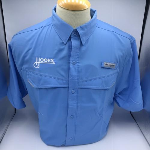 Columbia - Fishing Shirt - Low Drag - Fauxback - Lt Blue