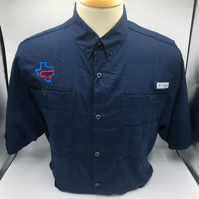 Columbia - Fishing Shirt - Tamiami - Fauxback - Navy