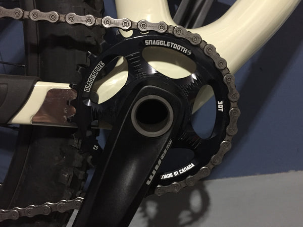 Get a smaller chainring for your bikepacking trip