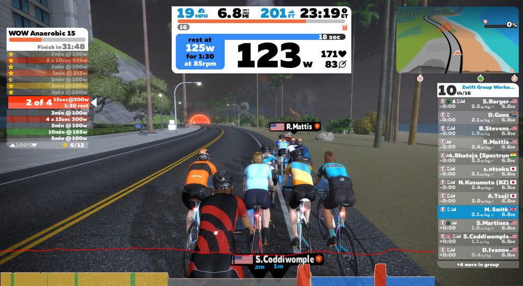 Zwift Structured Workout