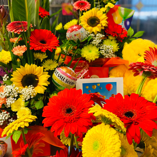 Bright Reds, Oranges & Yellows (Arrangement) - Picked for You
