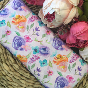 Pale Pink Floral Heat Bag