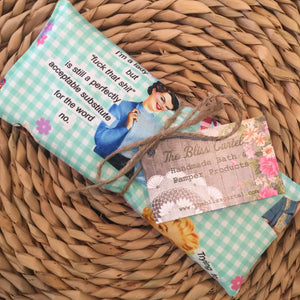 Sassy Housewives Mint Lavender Eye Pillow