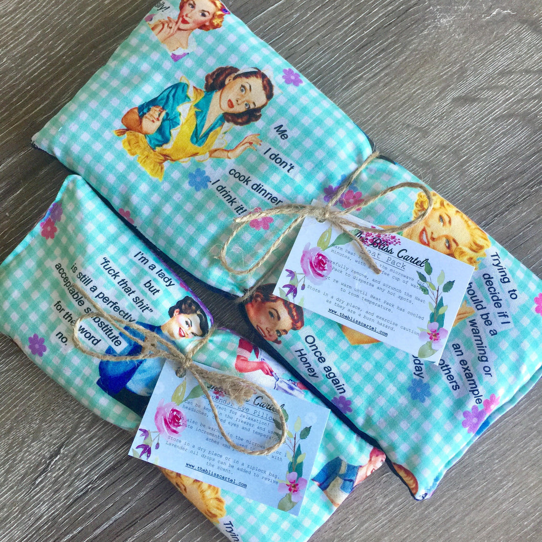 Eye Pillow & Heat Pack Gift Set