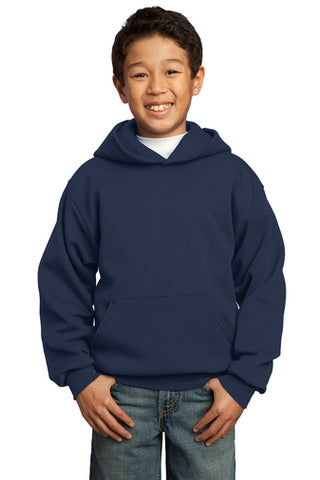 Port & Company Fleece Youth Pullover Hooded Sweatshirt - Unisex  (with logo)