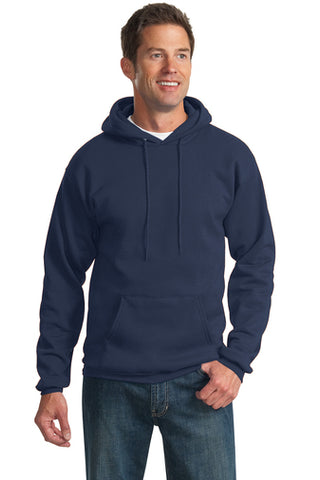 Port & Company Essential Fleece Pullover Hooded Sweatshirt - Unisex (with logo)