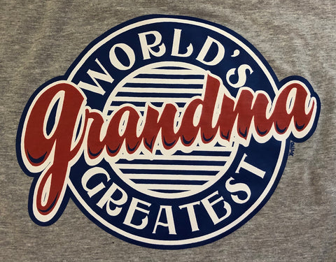 World Greatest Grandma -  Port & Company®  Adult T- Shirt