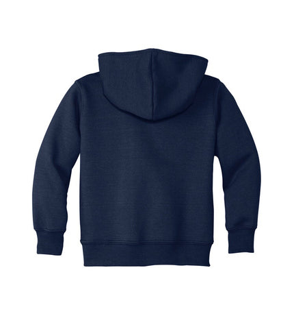 Port & Company® Toddler Core Fleece Pullover Hooded Sweatshirt - Unisex (with logo)