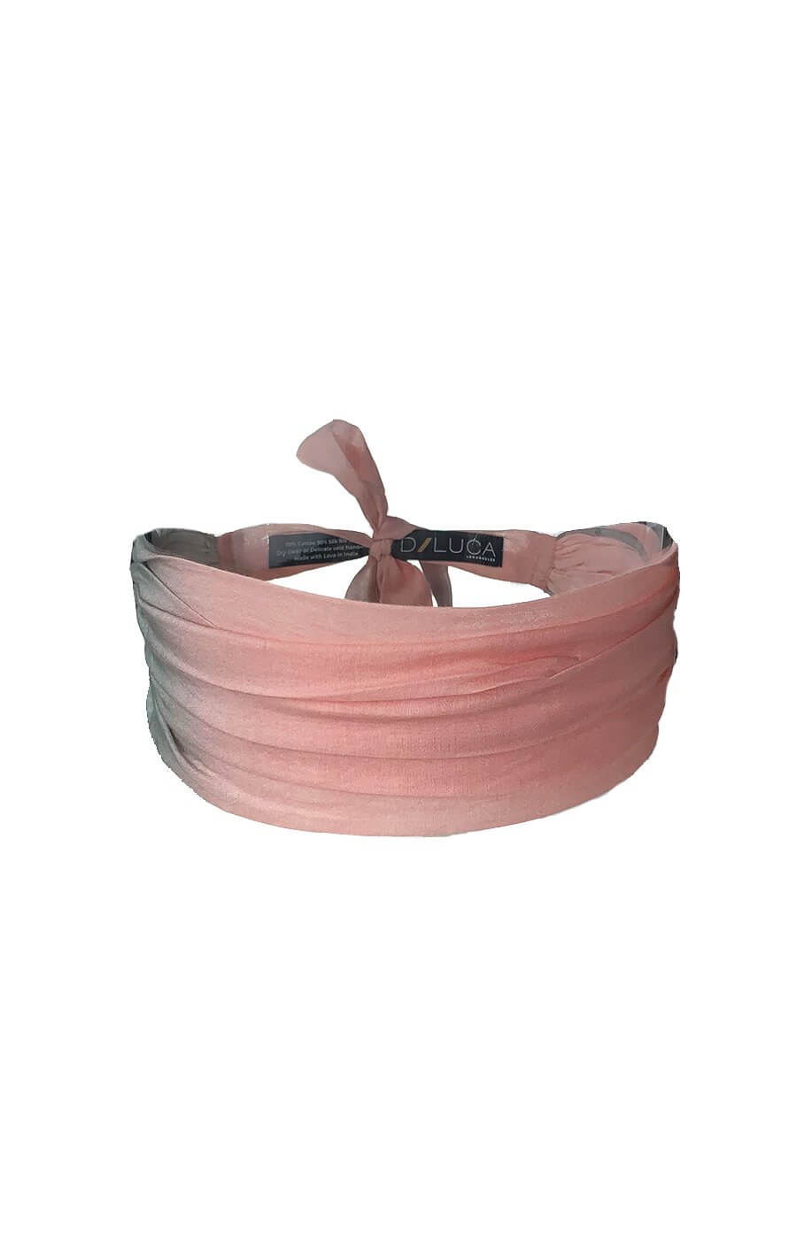 D/Luca Shades of blush -The Band -Silk Cotton Blend