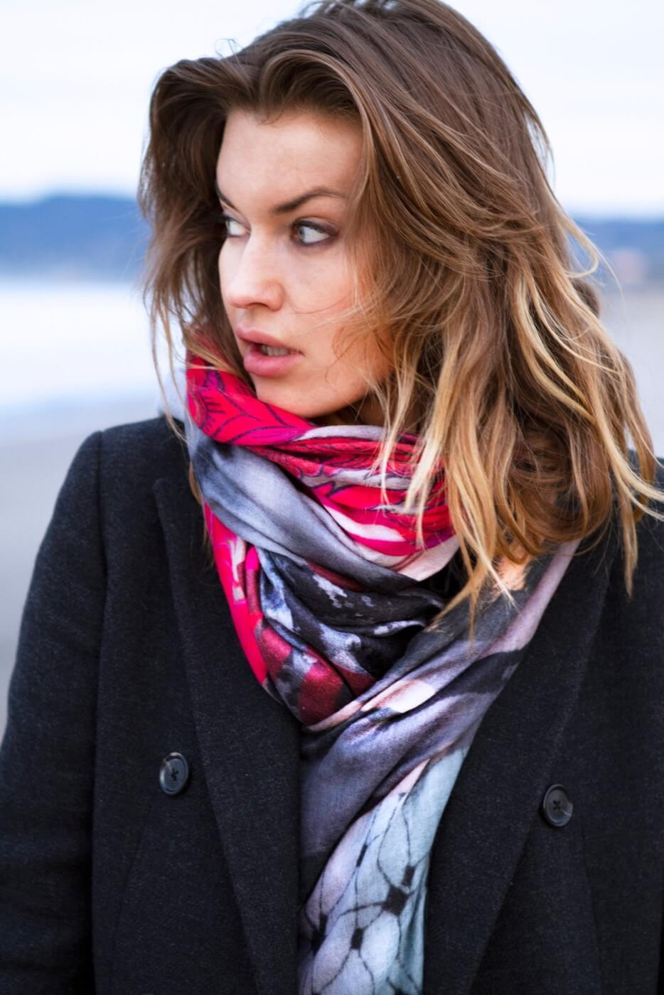 D-Luca Best Off Fine Cashmere Scarf