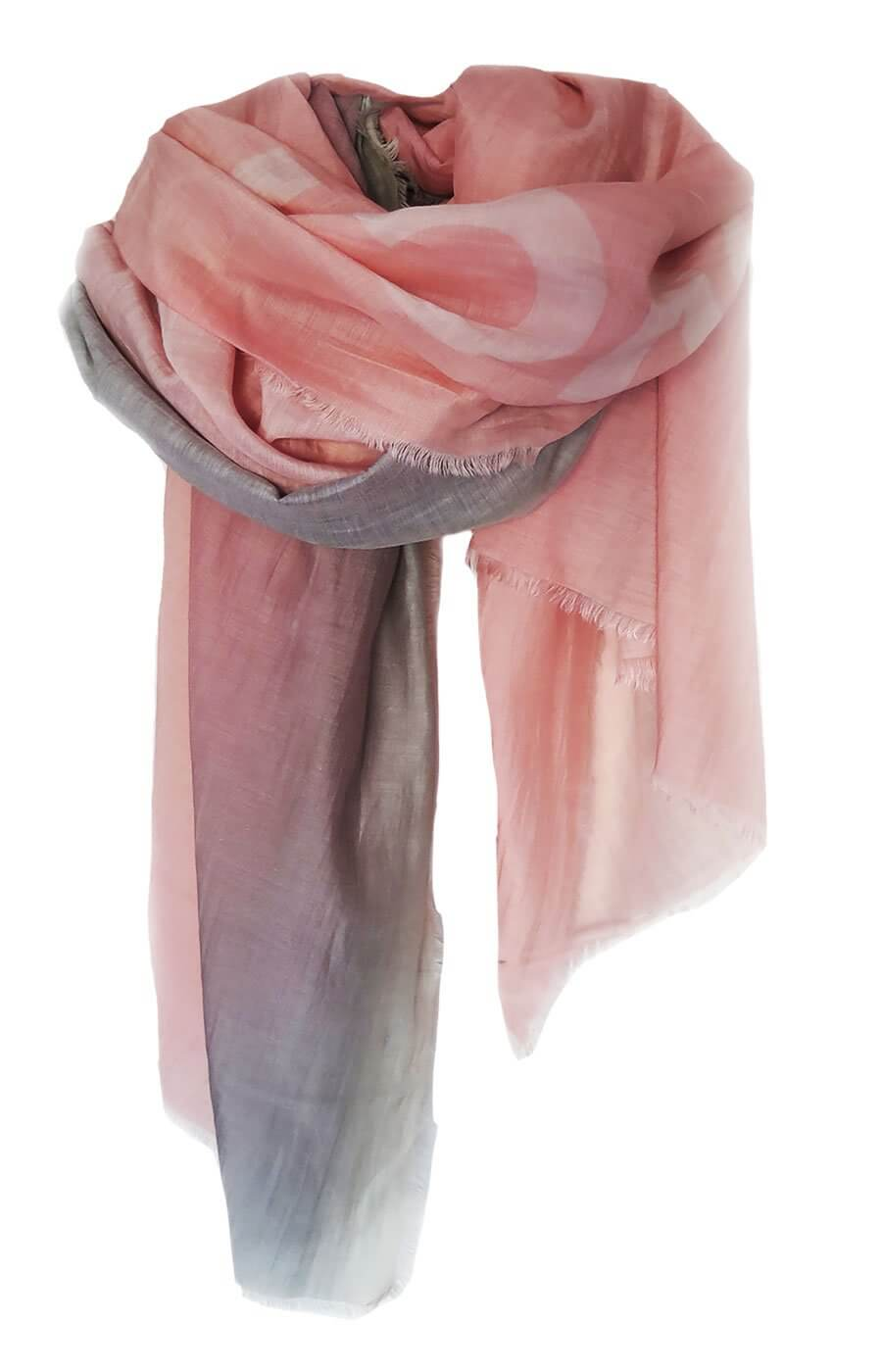 D/Luca Sanctuary Shades of Blush - Silk Cotton Blend