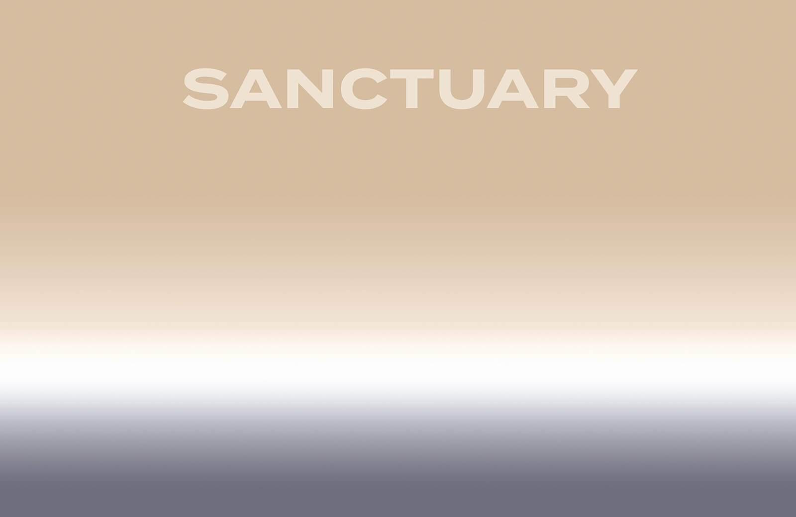 Sanctuary Shades of Sand and Grey - Artwork