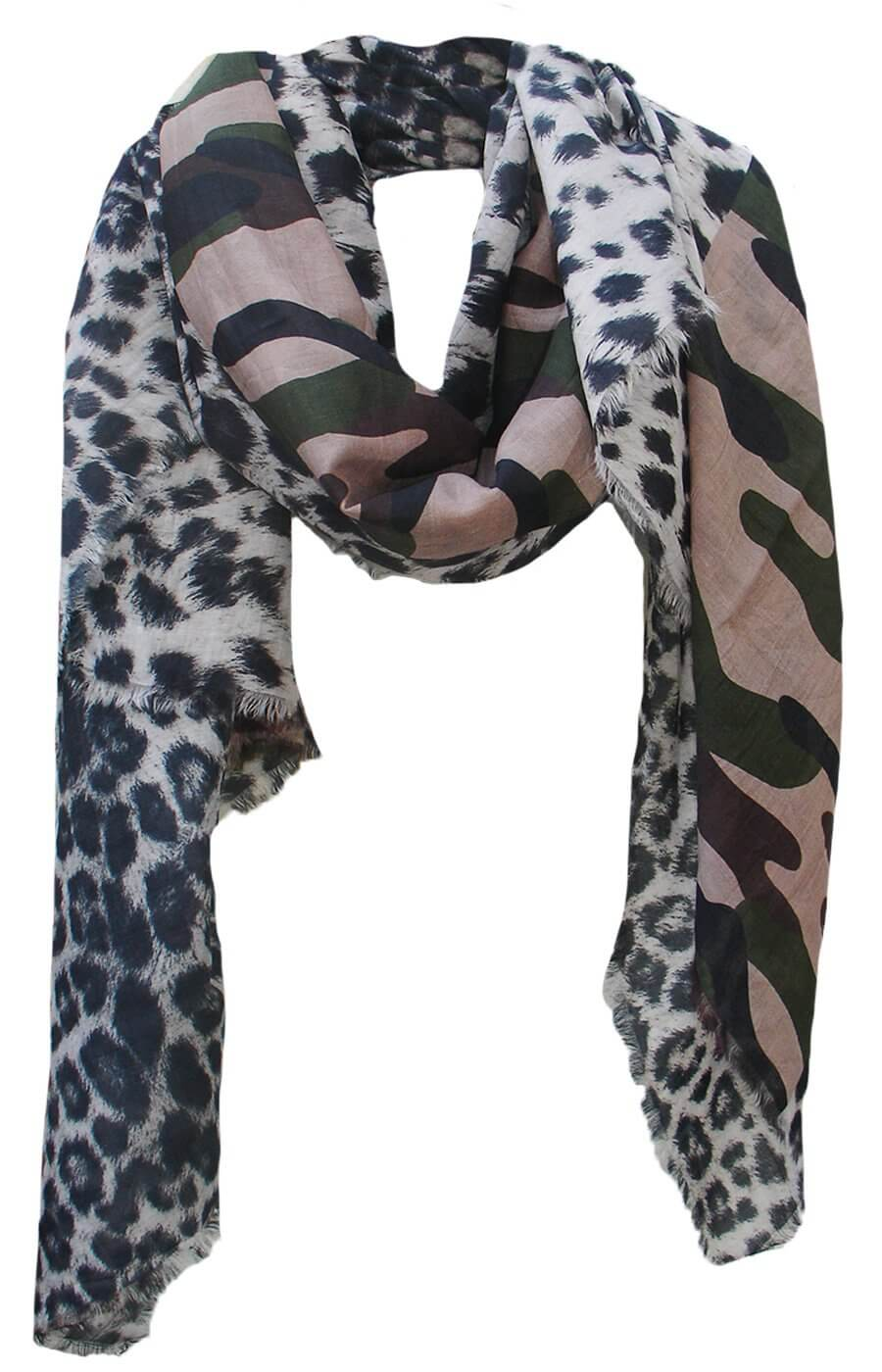 D/Luca Leo Camouflage Unconditional - Silk Cotton Blend