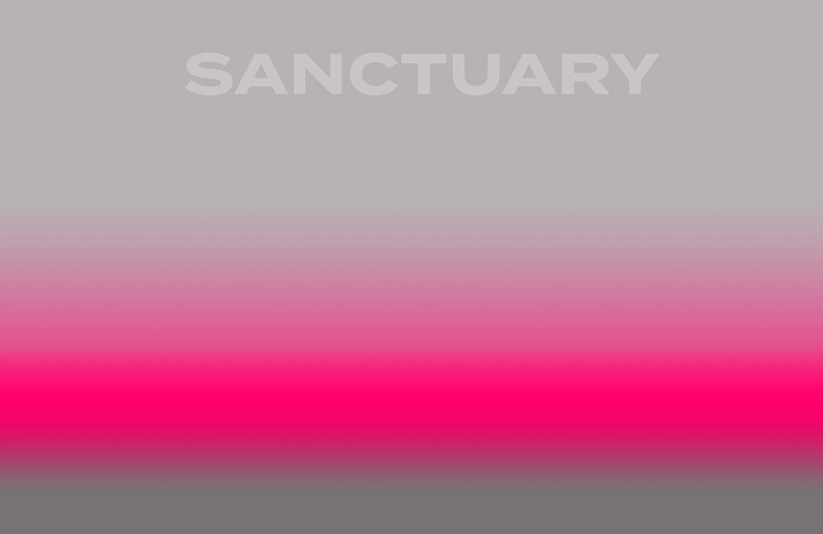 D/Luca Sanctuary Shades of Pink and Grey - Artwork