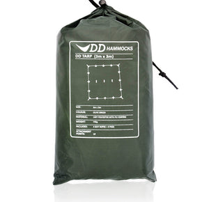 3m×3m Multipurpose Tarp | DD Hamocks