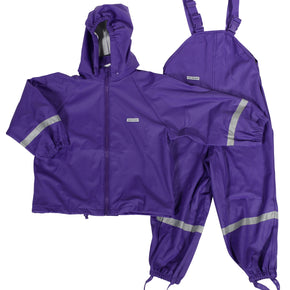 Ocean Children's Outdoor Waterproof Set Purple