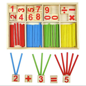 Wooden Educational Maths Game