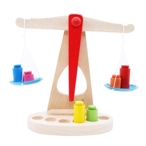 Wooden Scales Set