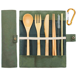 Bamboo Outdoor Eating Utensils