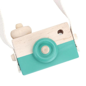 Wooden Play Camera