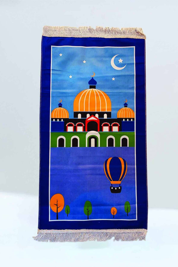 Crown Mosque Prayer Mat - FathakirrStore