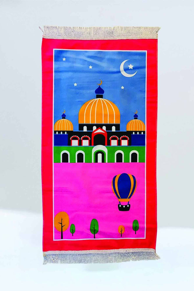 Crown Mosque Prayer Mat