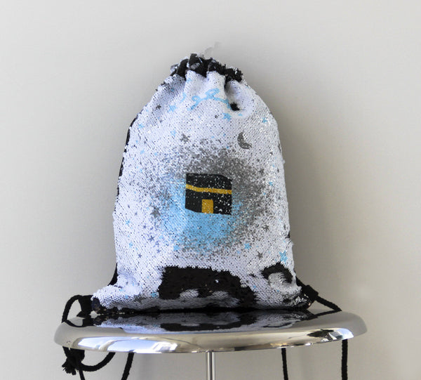 Boys Kaba Sequin Backpack bag - FathakirrStore