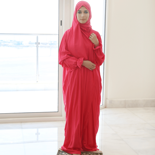Women Prayer Wear Fuchsia - FathakirrStore