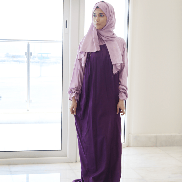 Women Prayer Wear Shades of Purple - FathakirrStore