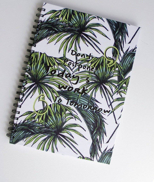 Don't Delay work Notebook - FathakirrStore