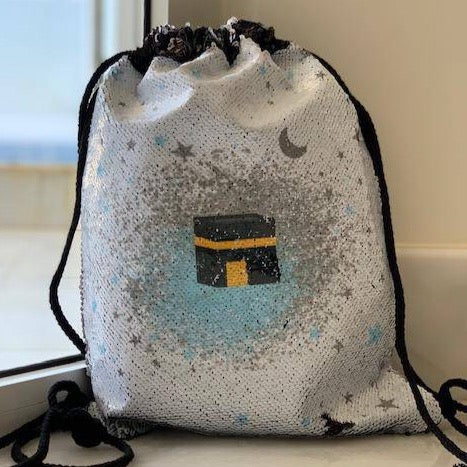 Boys Kaba Sequin Backpack bag