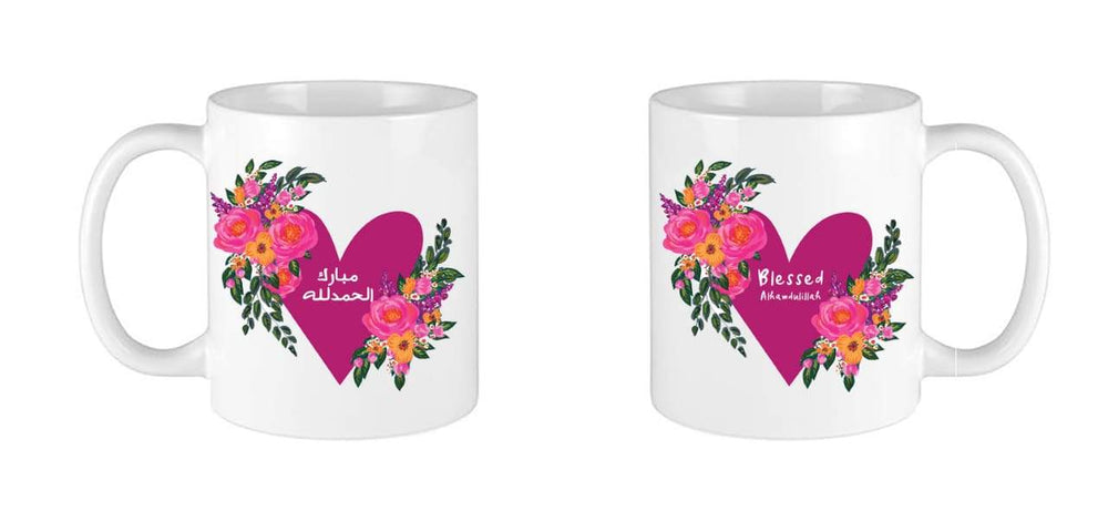 The Flowers Of My Heart Mug