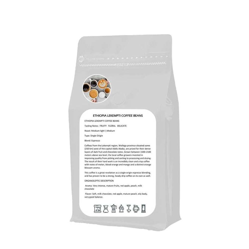 Espresso Single Origin Lekempti Coffee