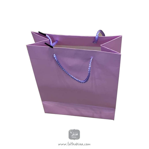Purple Gift Bag - FathakirrStore