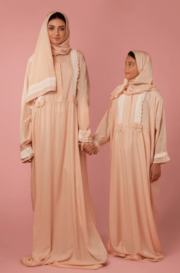 Girls Prayer Veil Pink - FathakirrStore