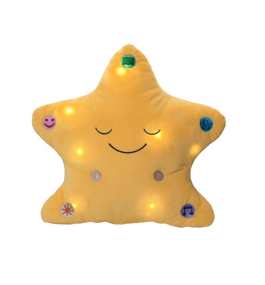 Duaa Star Pillow Yellow