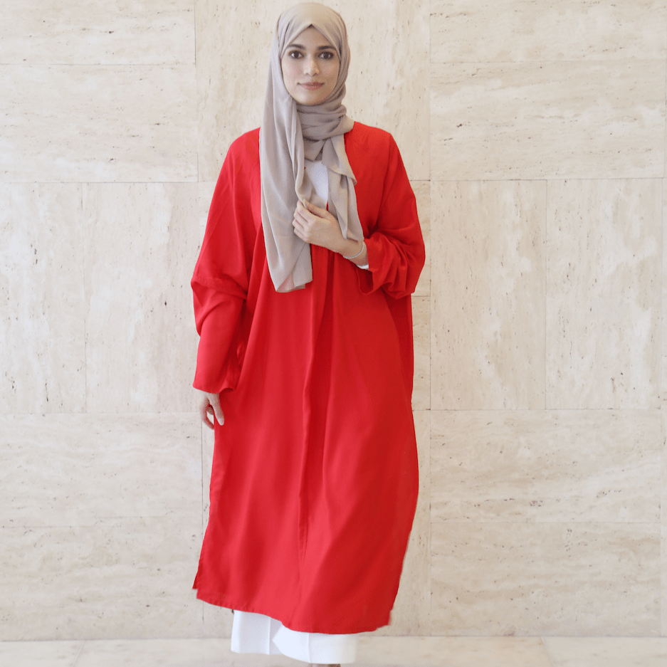 Women's Long ٍRed Dress