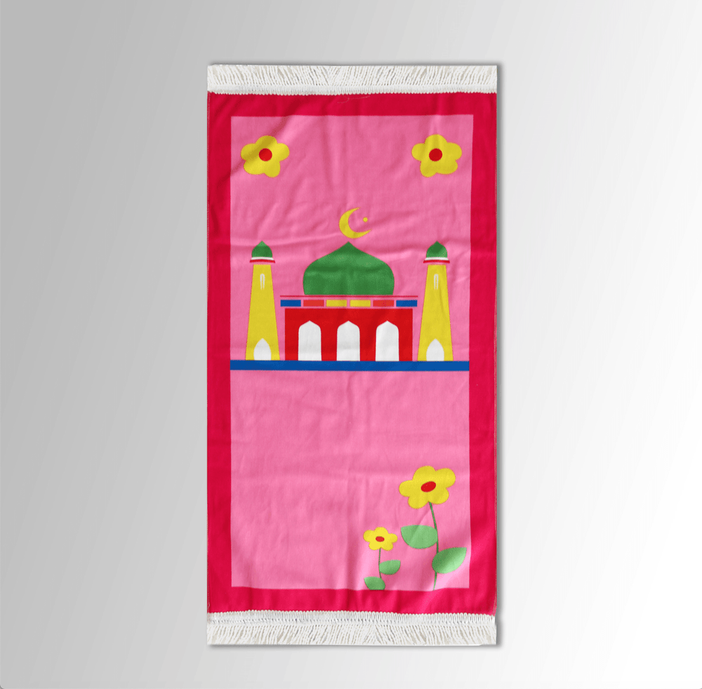 Madina Pink Prayer Mat