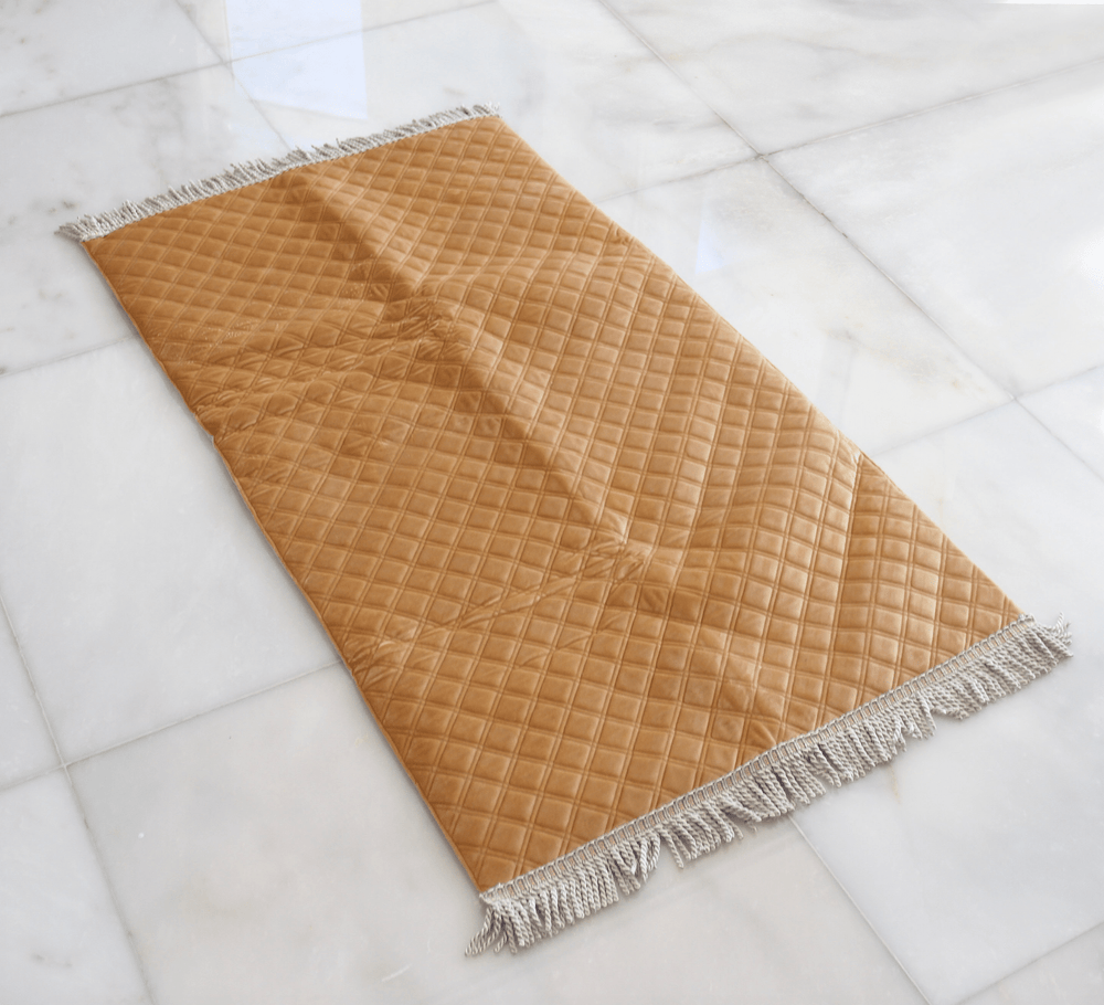 Beige Foam Prayer Mat