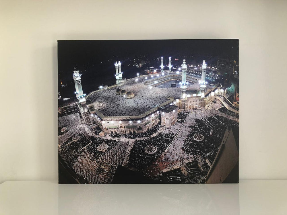Makka Haram Night Canvas