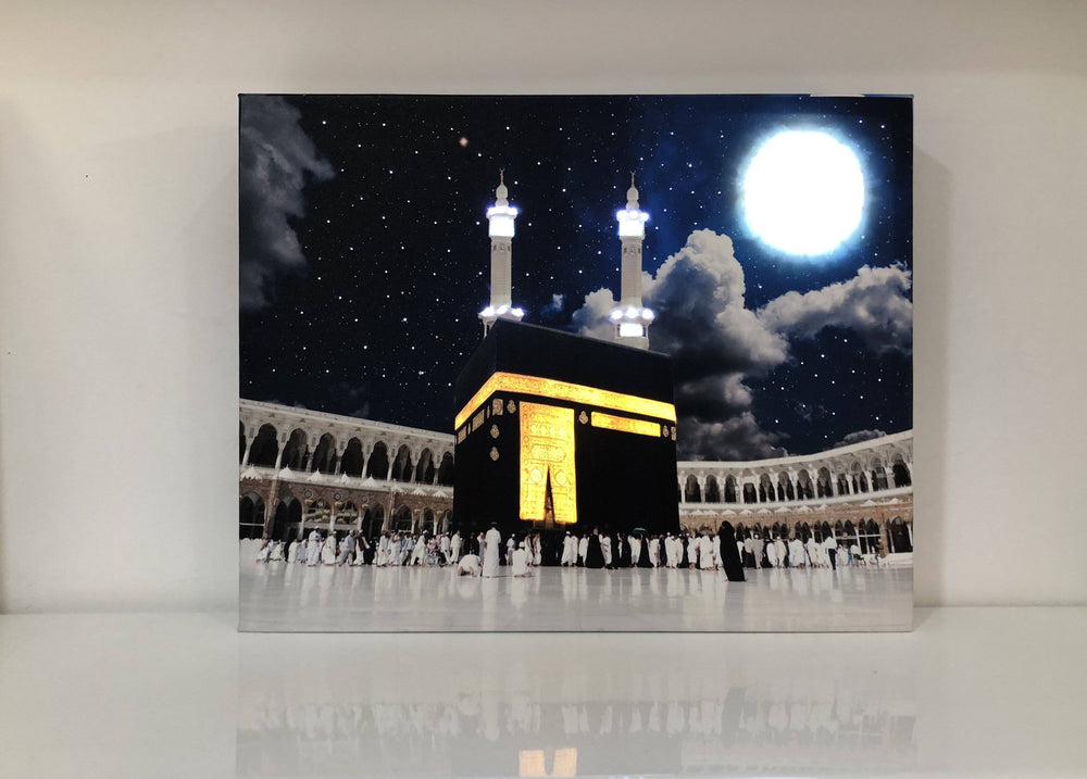 Kaba Almultazam Night Canvas