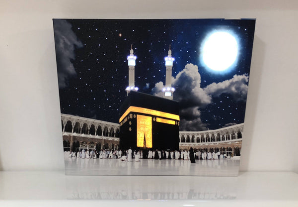 Kaba Almultazam Night Canvas - FathakirrStore