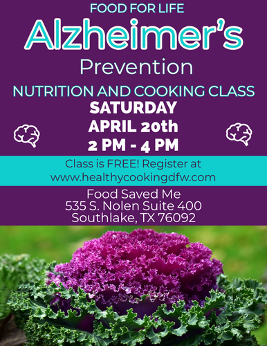 Alzheimer's Prevention - SOUTHLAKE - Apr 20 2-4p